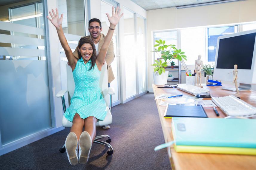¿Te diviertes en el trabajo?